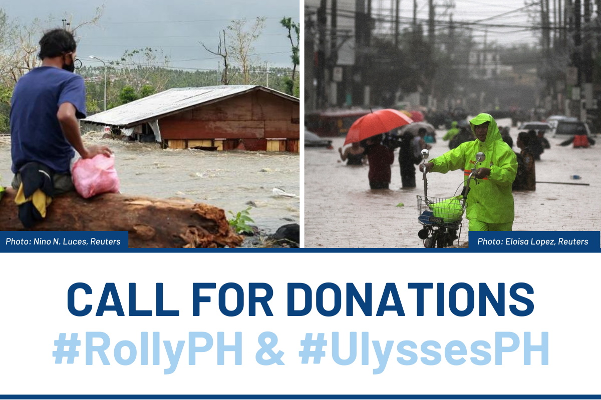 CALL FOR DONATIONS: Families affected by #RollyPH & #UlyssesPH need our help!